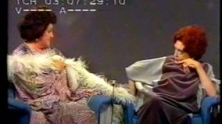 """Zarah Leander and Birgit Nilsson in """"Vill ne se en Stjärna"""""""