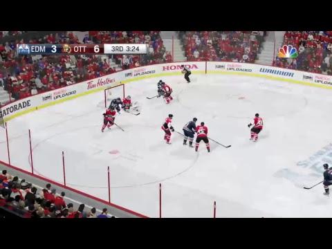 (Live) Edmonton Oilers Vs. Ottawa Senators(STANLEY CUP FINAL) NHL 17