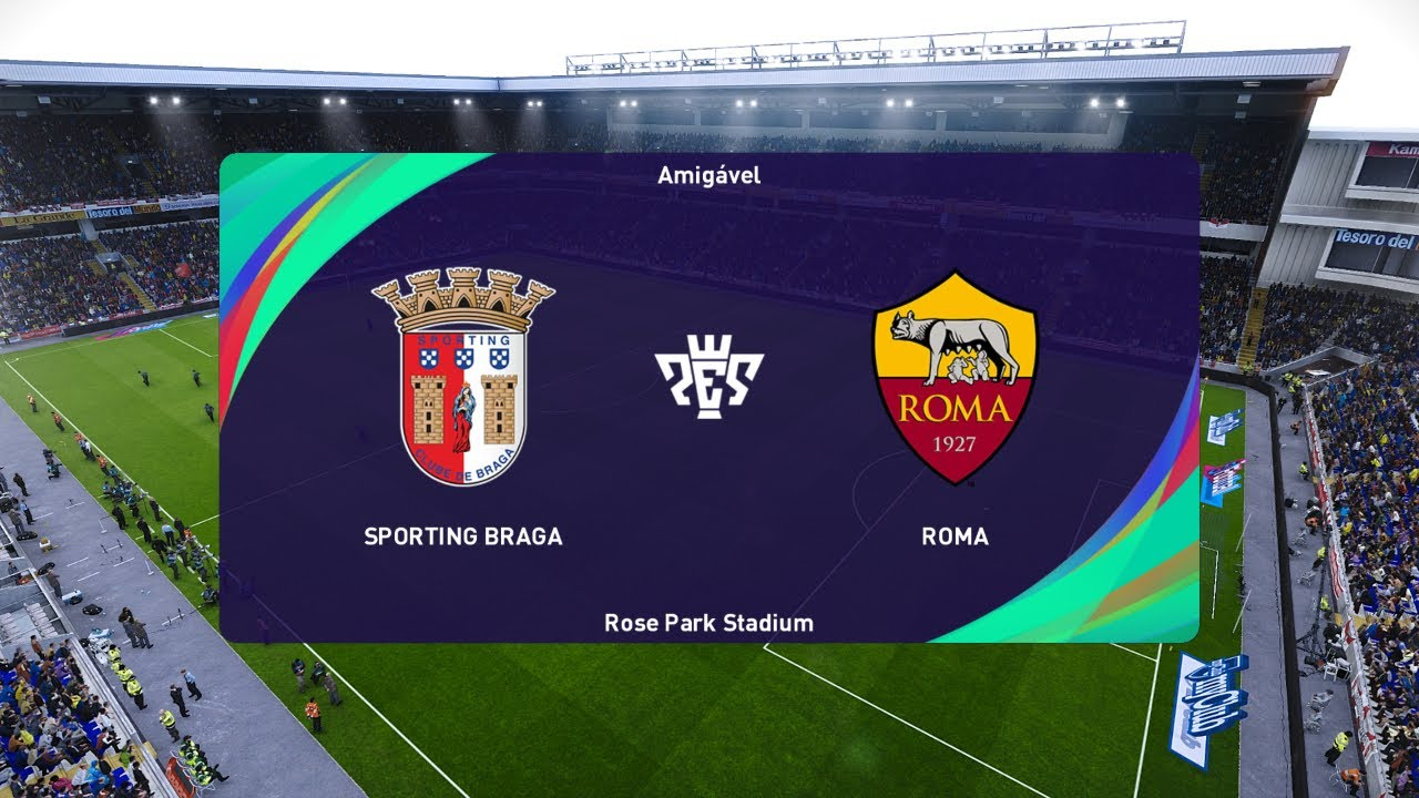 SC BRAGA VS AS ROMA EUROPA LEAGUE 2020/2021 - YouTube