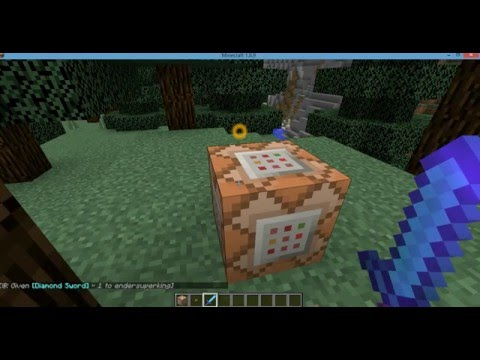 how to make the most powerfulest sword in minecraft