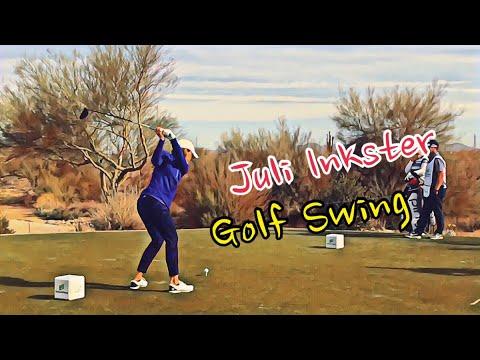 LPGA Juli Inkster Golf Swing Slow Motion/줄리 잉크스터 골프 스윙 슬로우모션