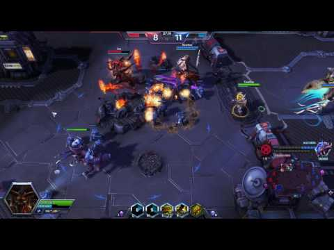 Heroes of the Storm - Updated Nazeebo and Braxis Holdout