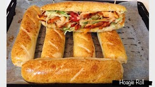 Homemade Hoagie Roll Sandwich Roll With Easy Step Youtube