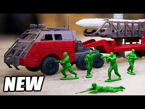Green ARMY MEN Invasion!  NEW Toy Soldiers Defense GAME (Hypercharge Unboxed Gameplay Part 1)