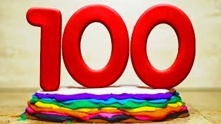 Video Numbers 1-100 in Play Doh (Stop Motion for Kids) download MP3, 3GP, MP4, WEBM, AVI, FLV Juli 2018