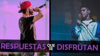 RESPUESTAS PARA CEBARTE Y DISFRUTAR 💉 (Subtitulado) | Batalla De Gallos - Rap thumbnail