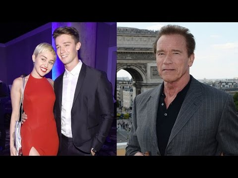 Arnold Schwarzenegger Says Miley Cyrus Gets Bad Rap, Calls Her 'Fantastic Person'