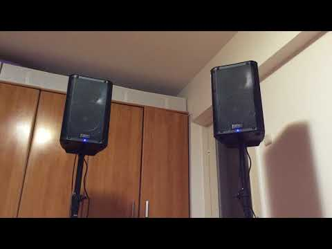 QSC K8 - Sound Test (28-sept-2017) - perfect sound &  looking 🔊WOOOOW! A lot of bass 👍