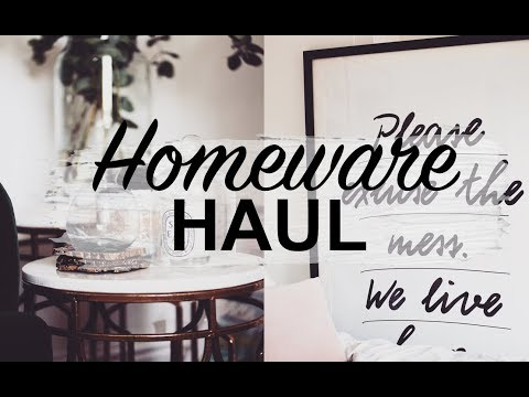 HOME TOUR | MINI HOMEWARE HAUL | SINEAD CROWE