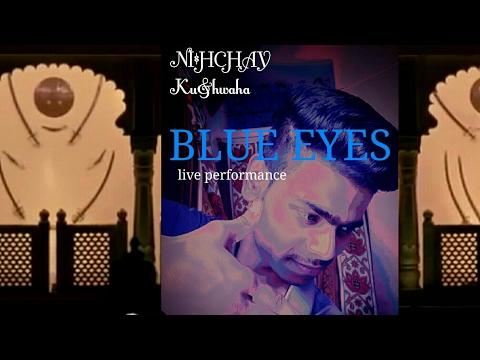 BREAK DANCE||BLUE EYES||in ECC COLLEGE|| in a new form || NISHCHAY KUSHWAHA