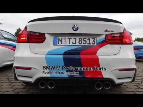 BMW M3 Safety Car - Listen to the amazing exhaust sound