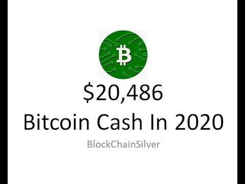 Bitcoin Cash To $20K?