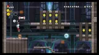 New Super Mario Bros. Wii - Star Coin Location Guide - World 7-Ghost House | WikiGameGuides
