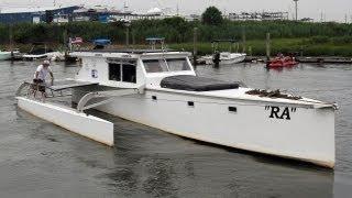 Solar Powered Boat RA
