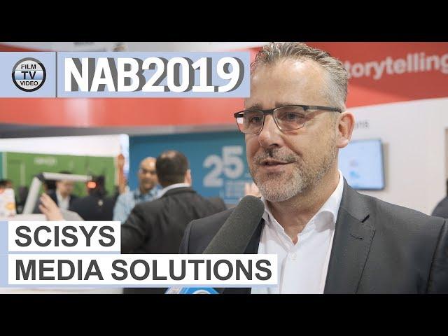 NAB2019: Scisys-Produktlinien wachsen zusammen