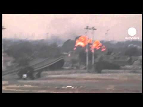 Gaddafi denies breaking ceasefire
