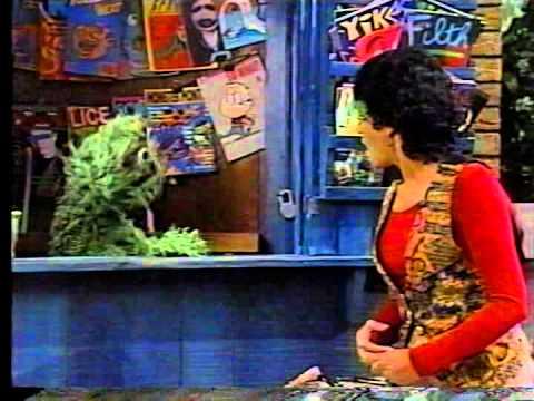 Sesame Street - Oscar's Newsstand