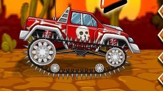МАШИНЫ МОНСТРЫ ! Игровой мультик про машинки тачки для детей мультфильм гонки на машинах .