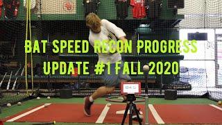 Bat Speed Recon Progress Update #1 fall 2020