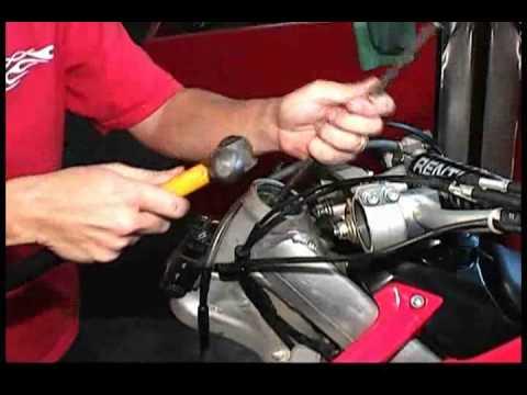 Pivot Works steering stem bearing installation - YouTube