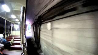 20140902黒部峡谷鉄道 トンネル抜けたら小屋平ダム