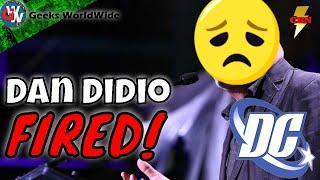 Dan Didio Leaves DC Comics -  Major DC Comics Shakeup -  DC Comics News