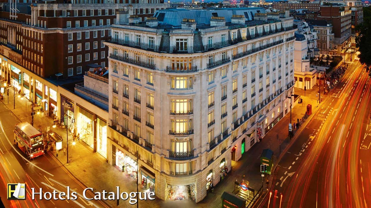 London Marriott Hotel Park Lane Tour 5 Star Luxury Boutique In Mayfair