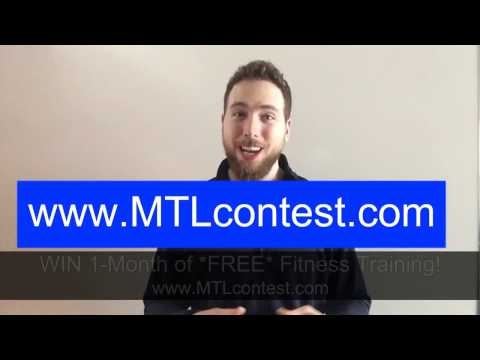 Montreal Free Fitness Contest Information