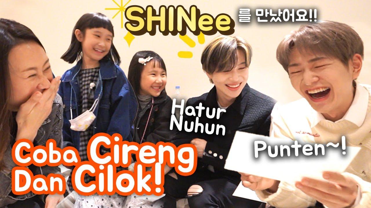 Pertama Kali Ketemu K-POP IDOL Group Terkenal! Sampai Diajari BAHASA SUNDA!! 처음으로 연예인과 만났...