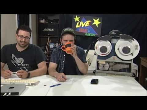 LIVE WITH MIKE AND AARON!!! EPISODE 5! STAGE NAMES AND NARCISSISM