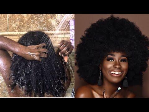 Winter WASH N GO Routine Natural Hair | 4 Type Hair
