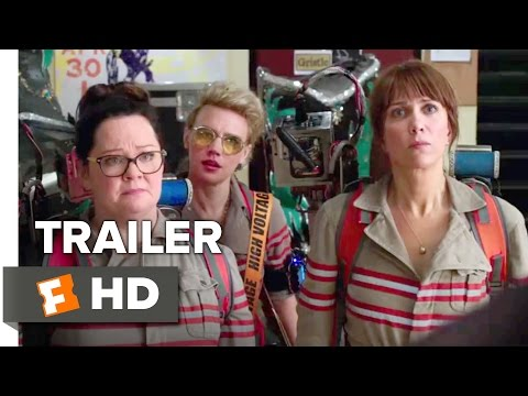 Ghostbusters Official Trailer ||  (2016) - Kristen Wiig - Melissa McCarthy Movie HD