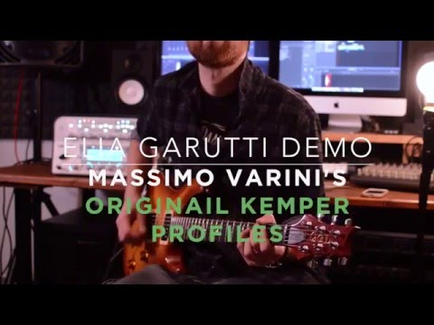 Massimo Varini's Kemper original profiles DEMO by Elia Garutti