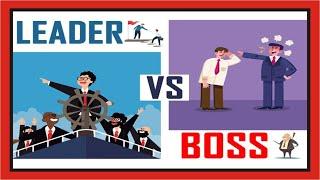 Perbedaan Bos dengan Pemimpin