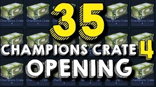 Rocket League | 35 Champions Crate 4 Opening! (CC4)