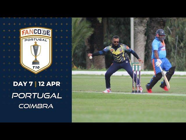 🔴 FanCode Portugal T10, Day 9 | Cricket Live Stream