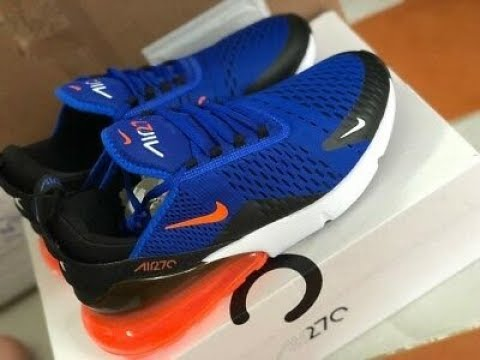 How to Lace Air Max 270 - YouTube