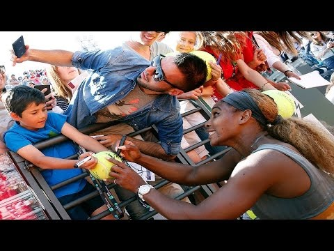 Serena Williams vs.Sara Errani *Rome Finals 2014* Highlights!