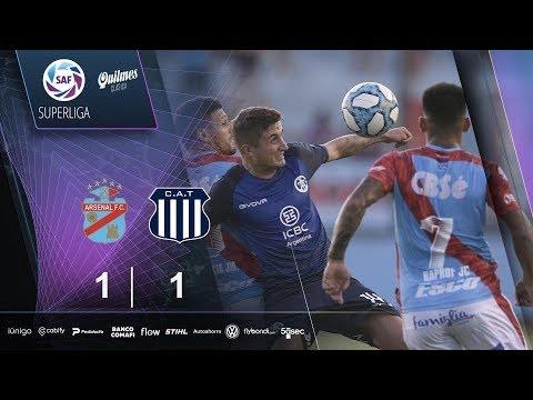 Арсенал Саранди  1-1  Тальерес Кордоба видео