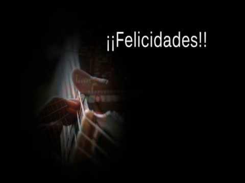 Cumpleanos feliz flamenco gitano