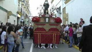 1ª SALIDA DE SANTA RITA - HIMNO, ALMA DE DIOS Y TRAS DE TÍ MI CAUTIVO