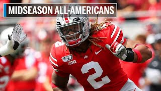 Highlights: Taylor, Young Headline Big Ten's AP Midseason First Team All-Americans | B1G Football