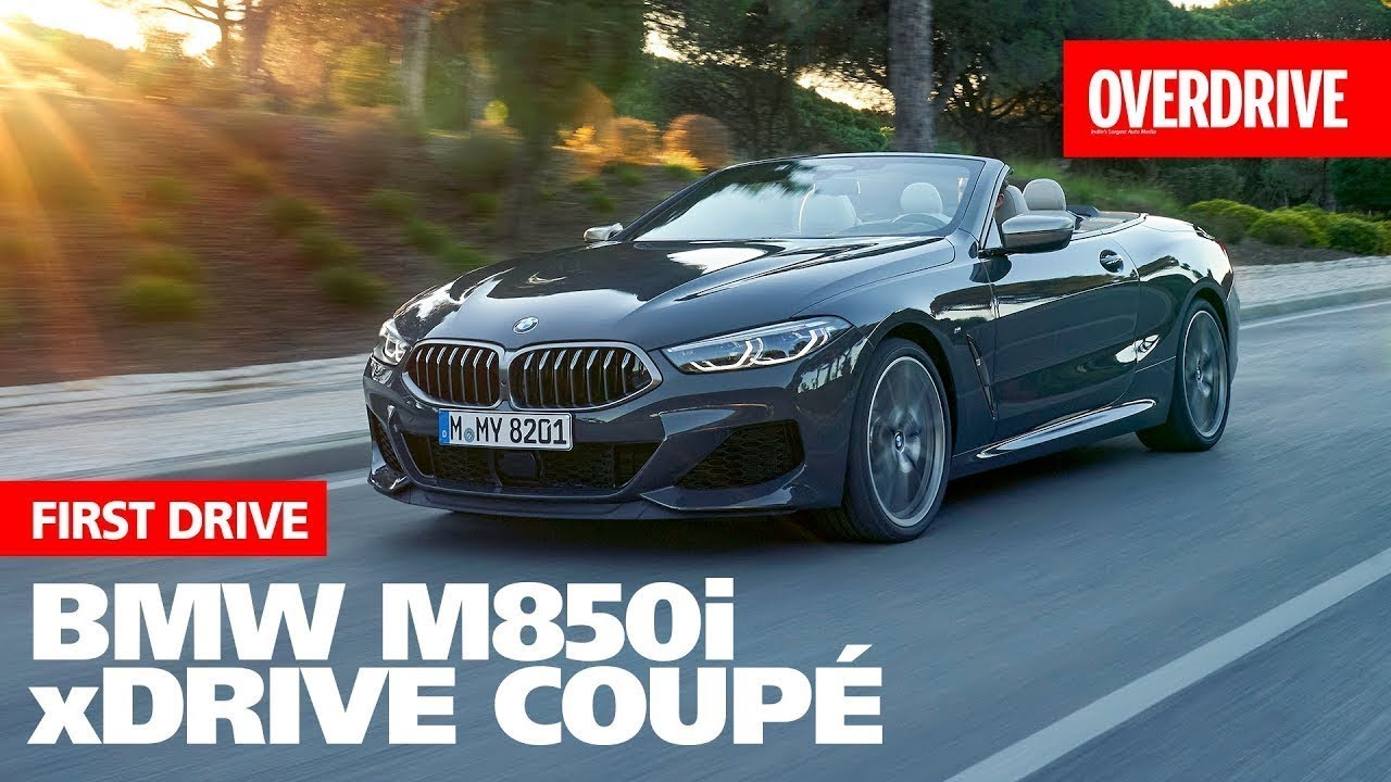 2019 BMW 8 Series Convertible first drive review - Overdrive