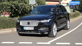 2016 Volvo XC90 D5 (225hp) - DRIVE & SOUND (60FPS)