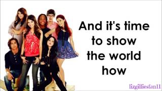 Repeat youtube video Victorious Cast ft. Victoria Justice - Make It Shine (Lyrics)