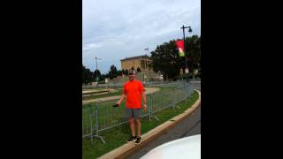 """Jeff being """"denied"""" to run the Rocky stairs Thumbnail"""