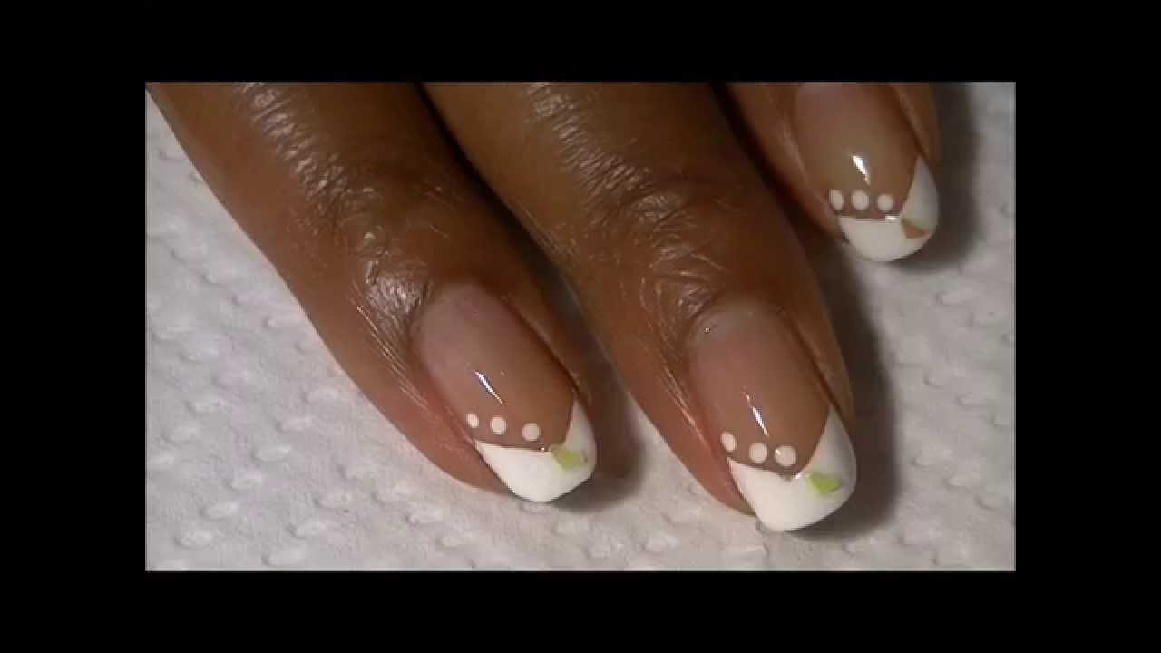 how to make shorter nails look longer! - youtube