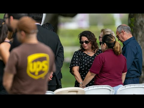 Mourners Of Killed UPS Driver Attend Burial Service In Miami Lakes