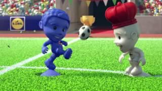 Stikeez revin la Lidl cu chef de fotbal • Stikeez Cup
