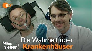 Mann, Sieber! – Wirtschaftsunternehmen Krankenhaus: Hauptsache Profit